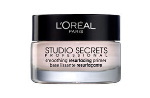 פריימר של לוריאל - l'oreal studio secrets smoothing resurfacing primer