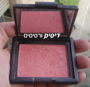 Nars Orgasm Blush - סומק אורגזם של נארס - האריזה