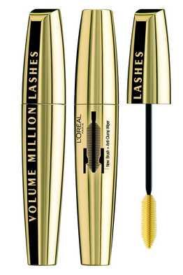 מסקרה ווליום מיליון לאשס של לוריאל פריז - loreal Volume Million Lashes mascara