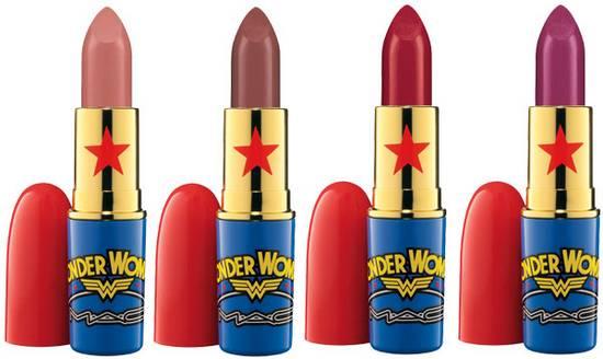 קולקציית השפתונים במהדורת WONDER WOMAN ל - MAC