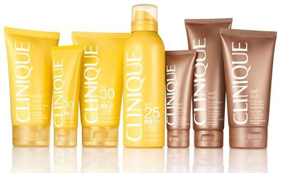 סדרת Clinique Sun של קליניק