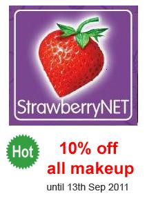 Strawberry 10% all makeup
