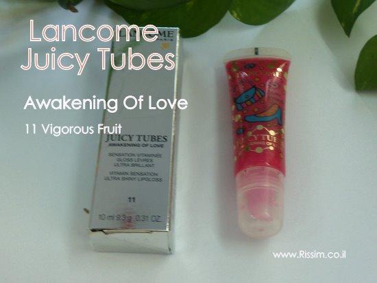LANCOME Juicy Tubes Awakening Of Love By Yayoi Kusama