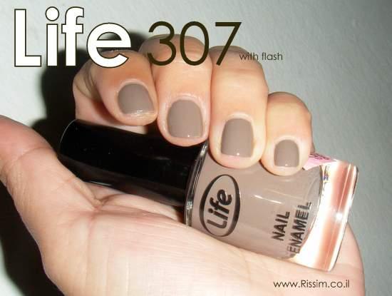 לק של לייף -  LIFE 307