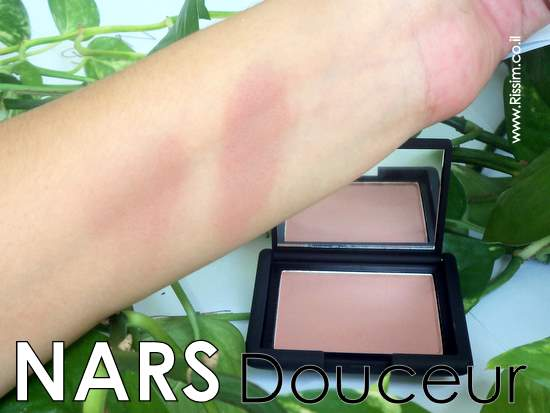 NARS Douceur Blush SWATCHES