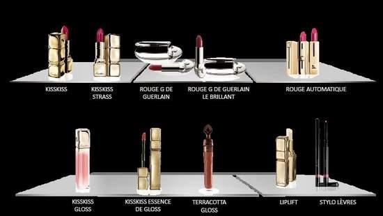 מוצרי האיפור של גרלן לשפתיים. (שקף מתוך המצגת שהוצגה לנו בערב הבלוגריות)