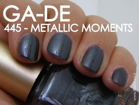GA-DE 445 METALLIC MOMENTS