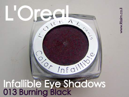 LOreal Infallible Eyeshadows 13 Burning Black