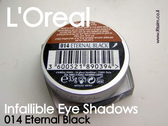 LOreal Infallible Eyeshadows 14 Eternal Black