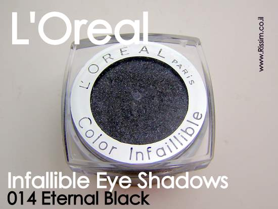 LOreal Infallible Eyeshadows 14 Eternal Black