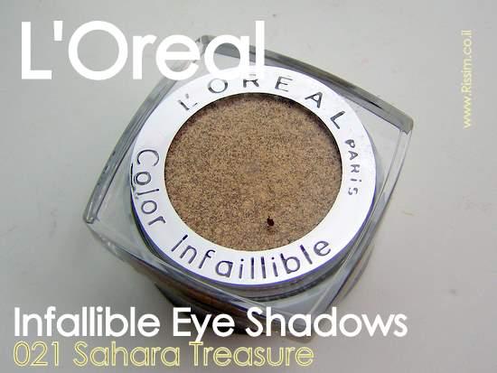 LOreal Infallible Eyeshadows 21 Sahara Treasure