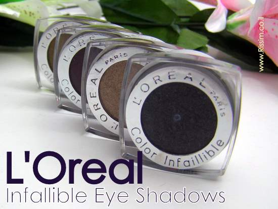 L'Oreal Infallible Eyeshadows