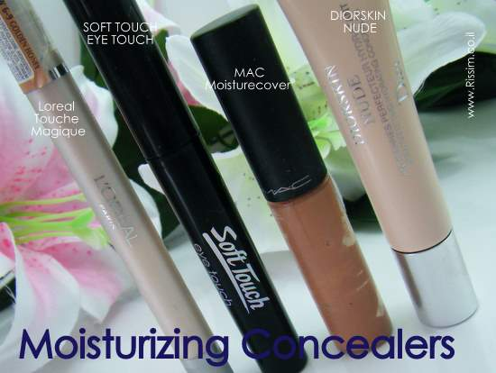 MOISURIZING CONCEALERS