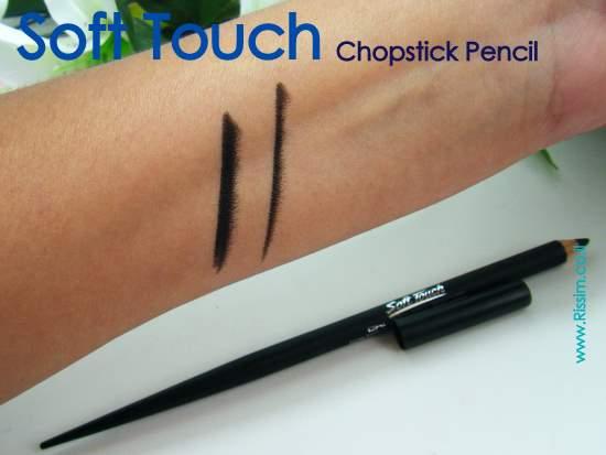Soft Touch chopstick pencil
