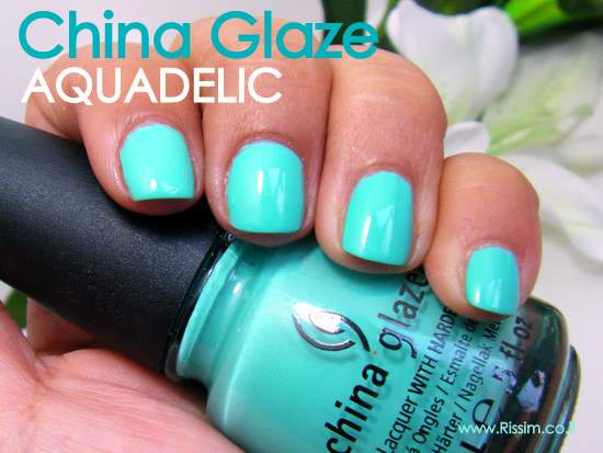 china glaze aquadelic