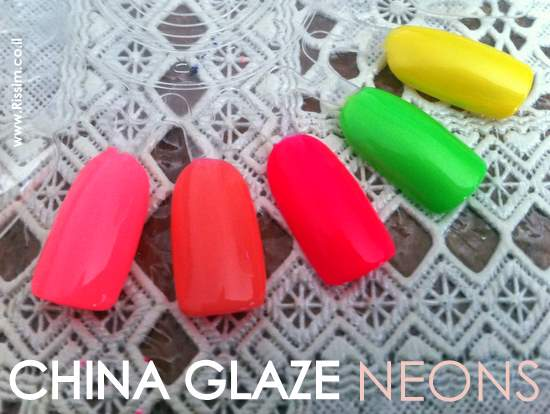 CHINA GLAZE NEONS