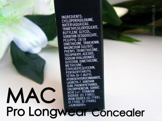 mac pro longwear concealer