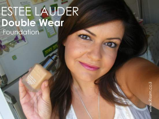 ESTEE LAUDER Double Wear Stay In Place Foundation on face