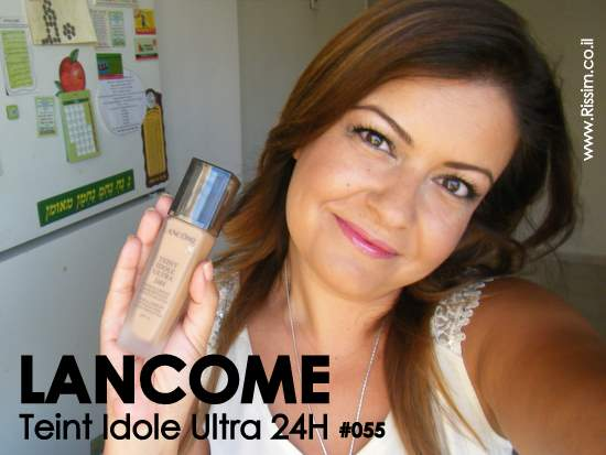 Teint Idole Ultra 24H foundation #55 on face