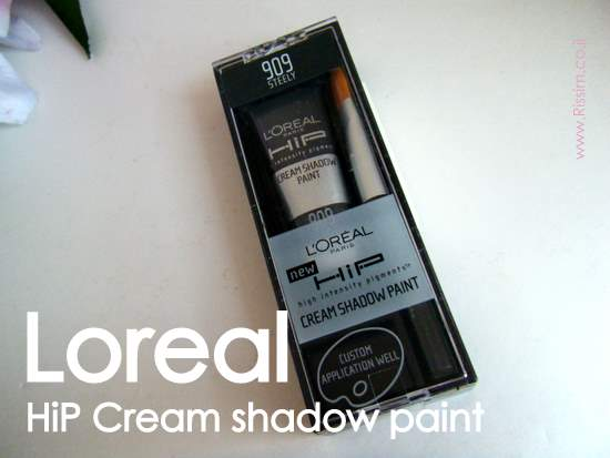 LOREAL HIP CREAM SHADOW PAINT