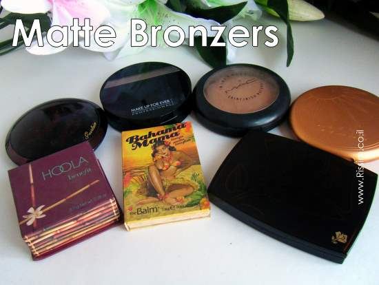 MY MATTE BRONZERS