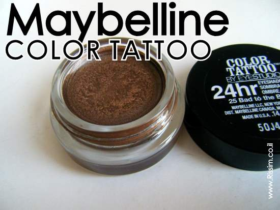 Maybeline Color Tattoo Cream Gel Eyeshadows