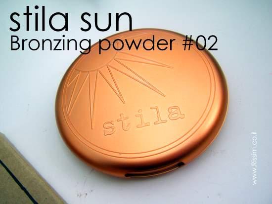 STILA SUN BRONZER #02
