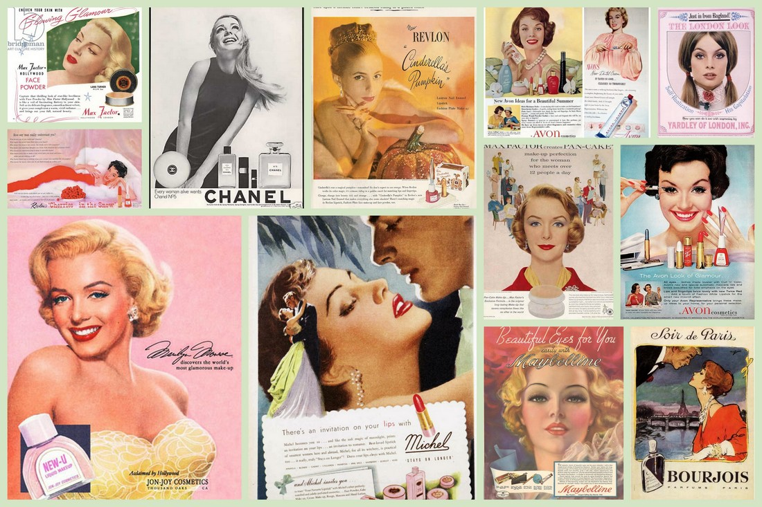 vintage cosmetic ads