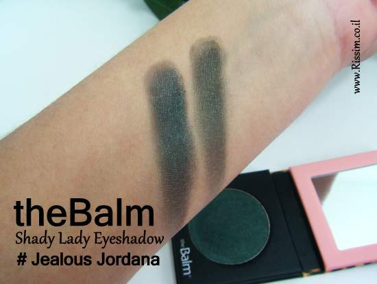 theBalm Shady Lady Eyeshadow Jealous Jordana