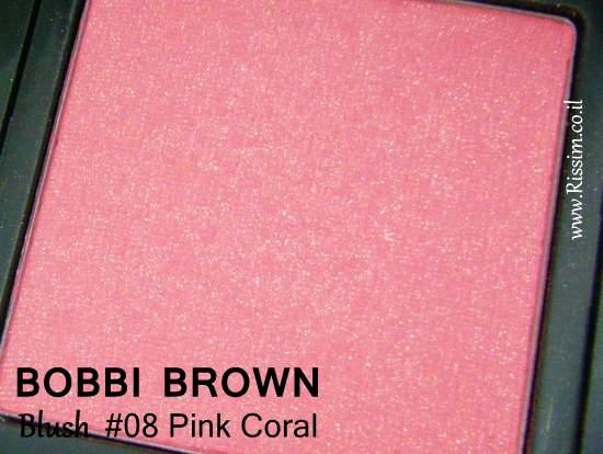 Bobbi Brown #08 Pink Coral Blush