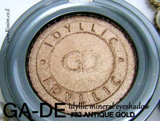 GA-DE Idyllic eyeshadow 82 antique gold