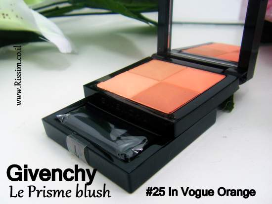 Givenchy Le Prisme blush #25 In Vogue Orange