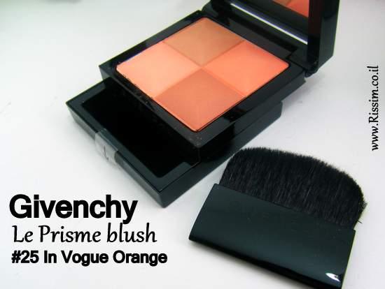 Givenchy Le Prisme blush #25 In Vogue Orange