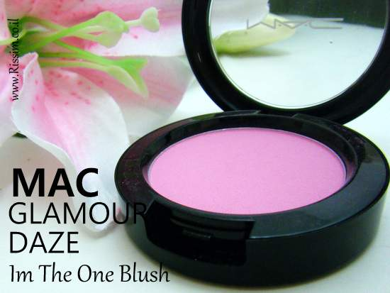 MAC Glamour Daze Collection I'm the one blush