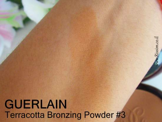 Guerlain Terracotta Bronzing Powder #3 swatch