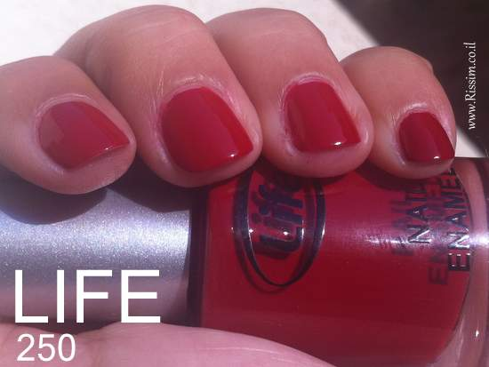 LIFE 250 nail polish swatches