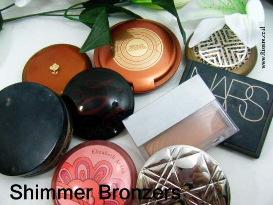 My Shimmer bronzers