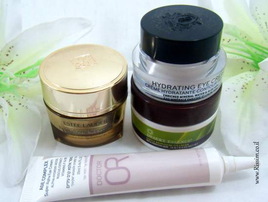 Day skincare routine for dry skin - eye creams
