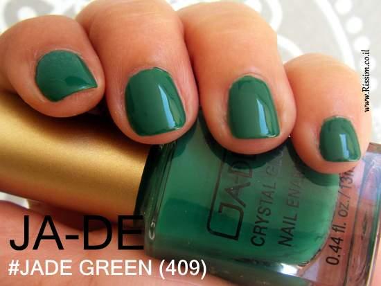 JADE #409 - JADE GREEN