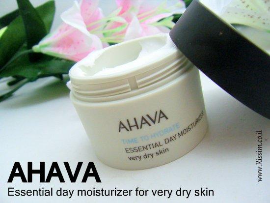 AHAVA Essential day moisturizer for very dry skin