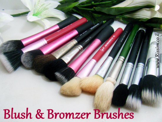 Blush and Bronzer Brushes