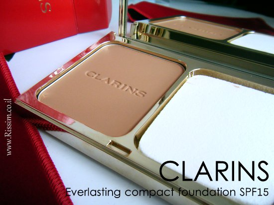 CLARINS Everlasting compact foundation SPF15-2