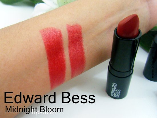 Edward Bess Red Lipstick #Midnight Bloom