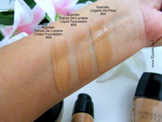 GUERLAIN Parure De Lumiere cream foundation1