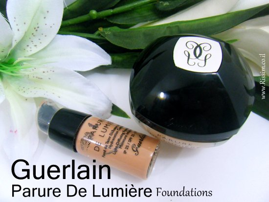 GUERLAIN Parure De Lumiere cream foundation1