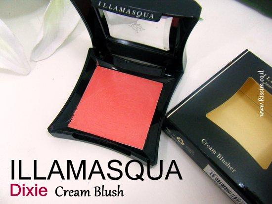 Illamasqua DIXIE cream blush 2