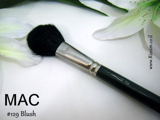 MAC 129 blush brush