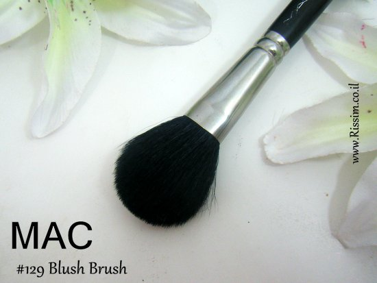 MAC 129 blush brush 2