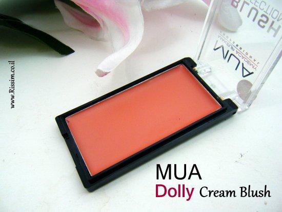 MUA Dolly Cream Blush 2