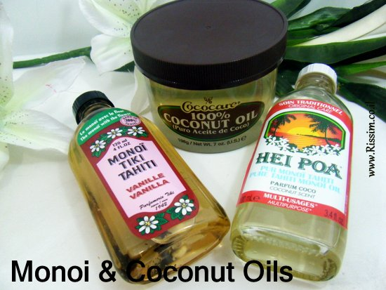 Monoi & Coconut oils